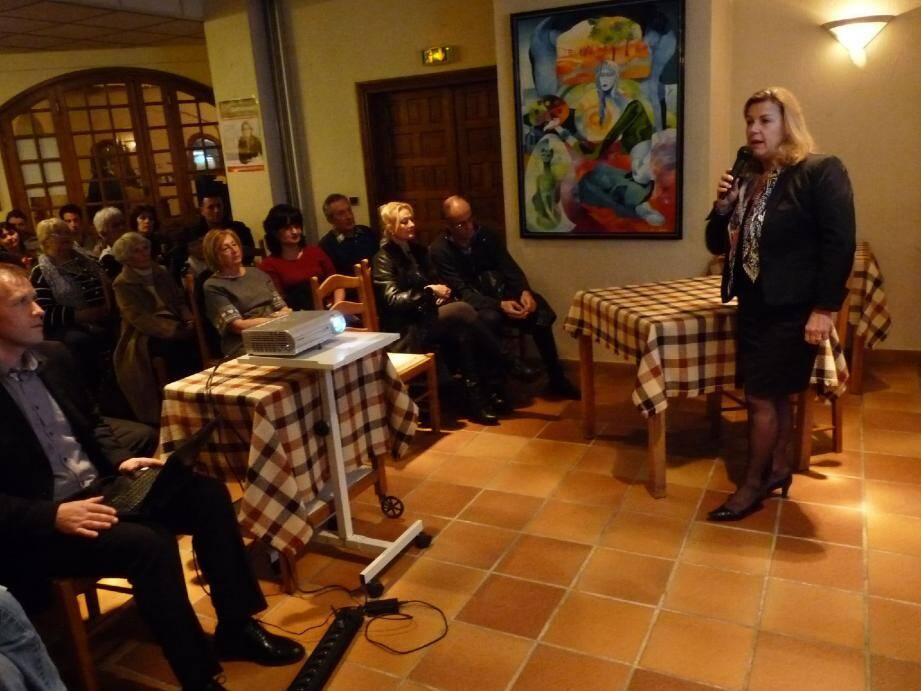 Anne Sattonnet : « Le secteur vençois qui doit accueillir le futur quartier Chagall ne peut absorber l'arrivée de 900 habitants ».
