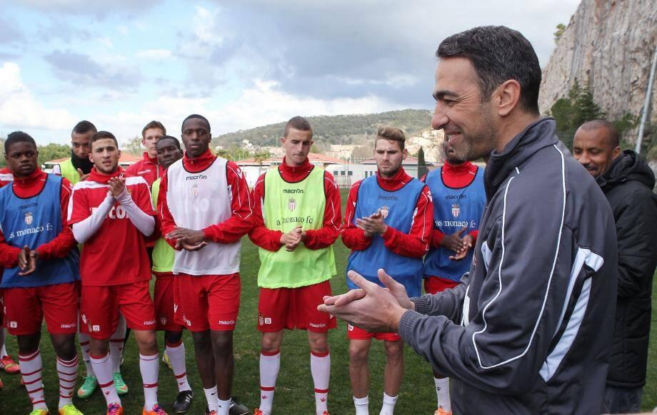 Le champion du monde en 1998, passé par Grenoble, Strasbourg, Monaco, Paris, l'Inter Milan, Kaiserslautern, Bolton, Blackburn et New York, est venu donner quelques conseils aux jeunes de l'ASM hier à La Turbie.