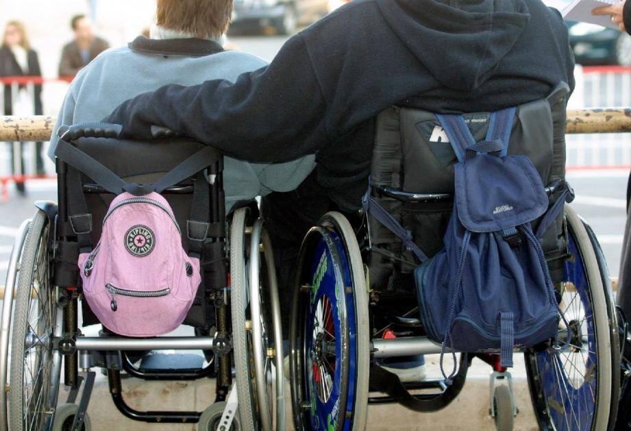 Près de sept millions d'euros sont consacrés chaque année à la politique en faveur des personnes handicapées.