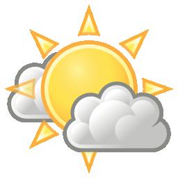 Illustration météo éclaircies