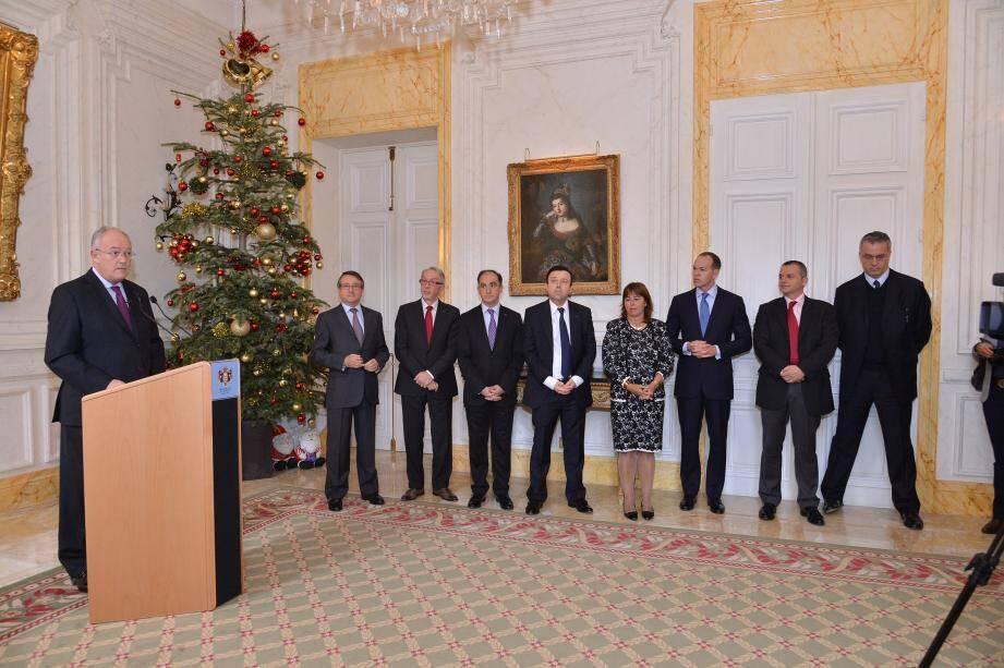 Le ministre d'Etat Michel Roger a fait cette annonce lors d'une cérémonie de vœux à la presse.