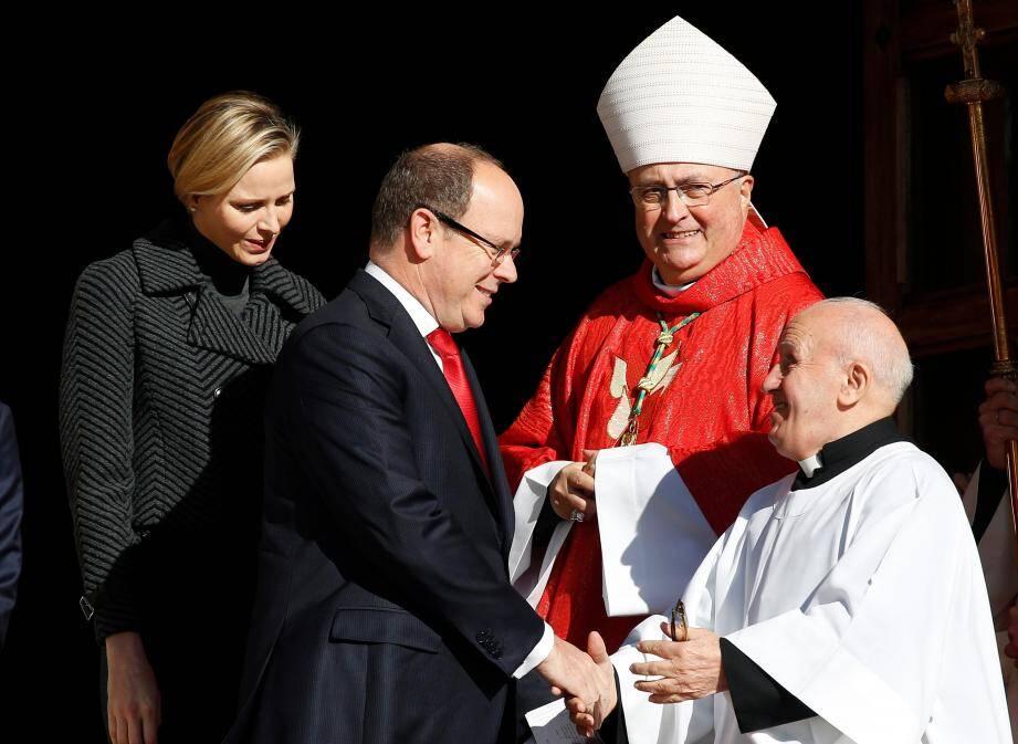 Ce lundi matin, le Rocher monégasque était en fête à l'occasion de la célébration de la Sainte Dévote, sainte patronne de Monaco.