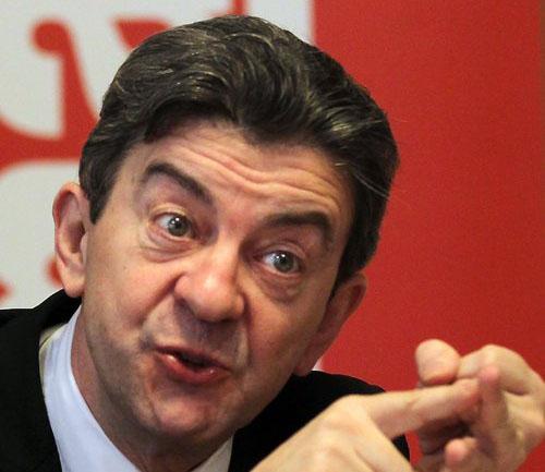 Le leader du Front de Gauche appelle à un sursaut aux élections européennes