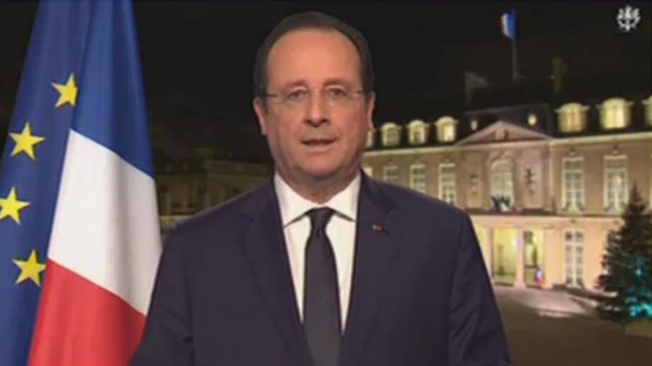 """Hollande propose un """"pacte de responsabilité"""" aux entreprises"""