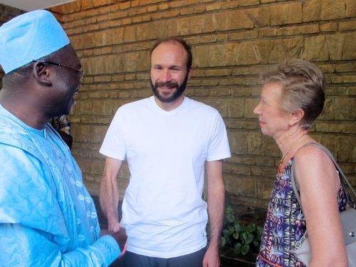 L'ex-otage au Cameroun Georges Vandenbeusch de retour en France 140101