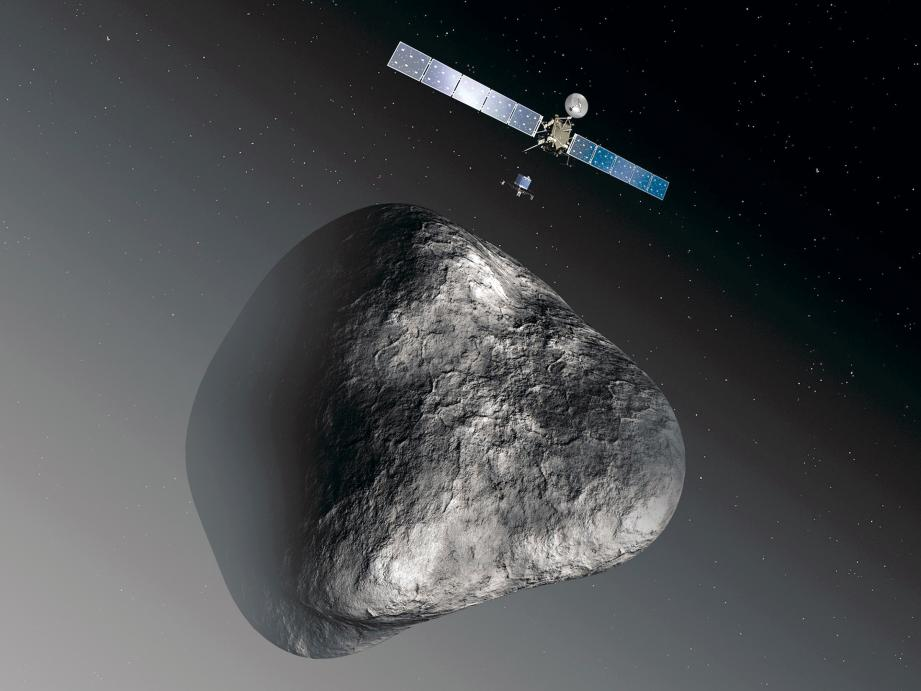 Après avoir parcouru sept milliards de kilomètres la sonde Rosetta a rendez-vous cet été avec une comète.