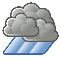 Illustration météo averses