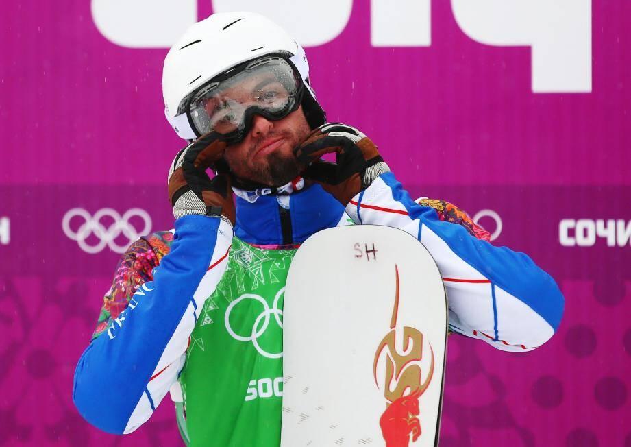 JO de Socthi: le Français Pierre Vaultier en or en snowboardcross
