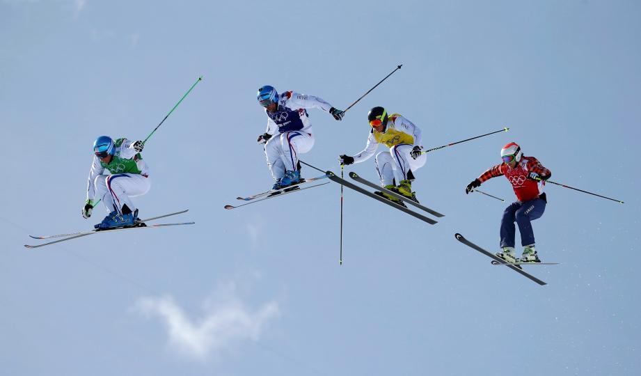 Un trio de Français survole l'épreuve du skicross.Sochi 2014 : le meilleur cru des Jeux d'Hiver pour les Bleus.