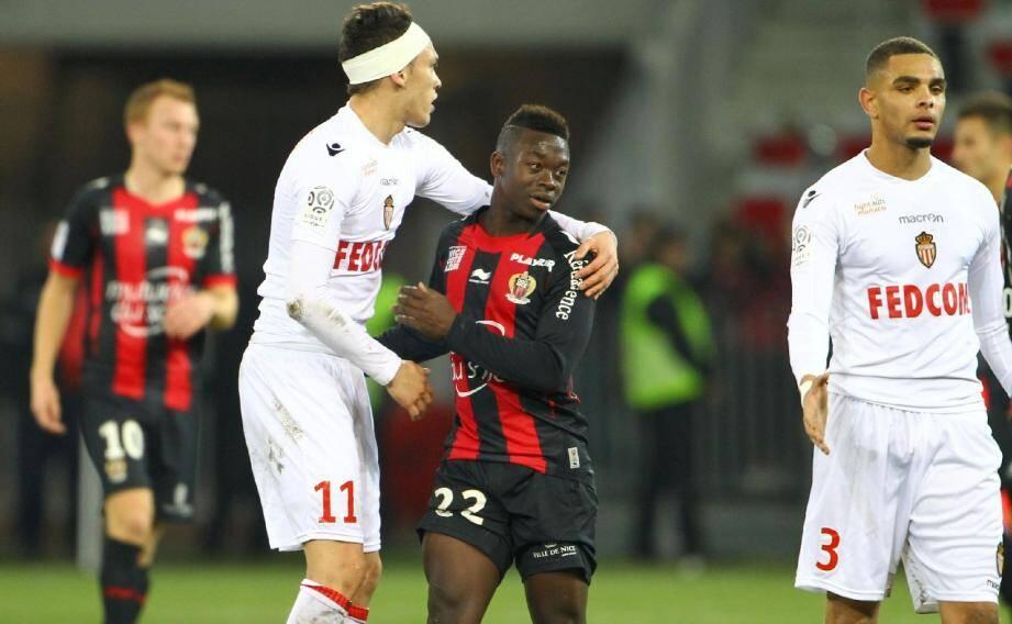 Entre l'ASM d'Ocampos et l'OGCN de Mendy, le derby avait largement tourné à l'avantage des Monégasques (0-3).