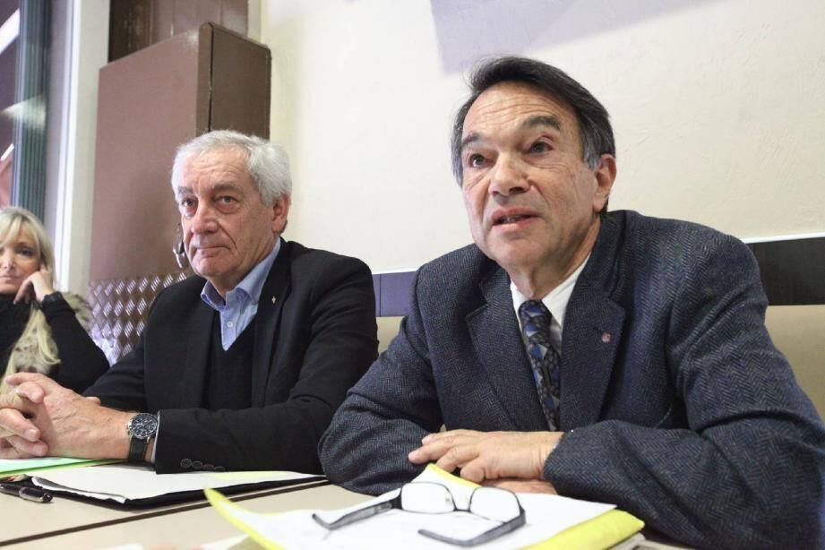 Alain Ginouvier et Michel Ghertman
