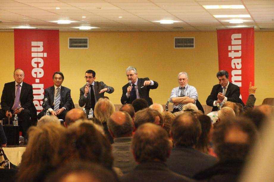 Trois thèmes principaux abordés par les candidats : le centre-ville, la circulation et le port de plaisance.