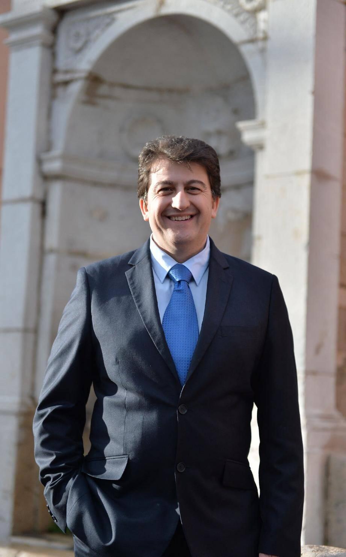 """Jean-Philippe Gispalou, candidat sans étiquette politique, mène la liste """"Vivre Mieux à La Turbie""""."""