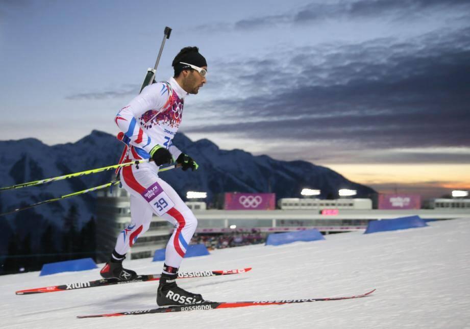Après sa déception lors du sprint (6e), Martin Fourcade s'est relevé et est devenu champion olympique de poursuite à Sotchi !