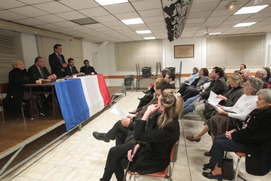 Jean-Marc Degioanni candidat du Rassemblement Bleu Marine-Front national à Saint-Jacques