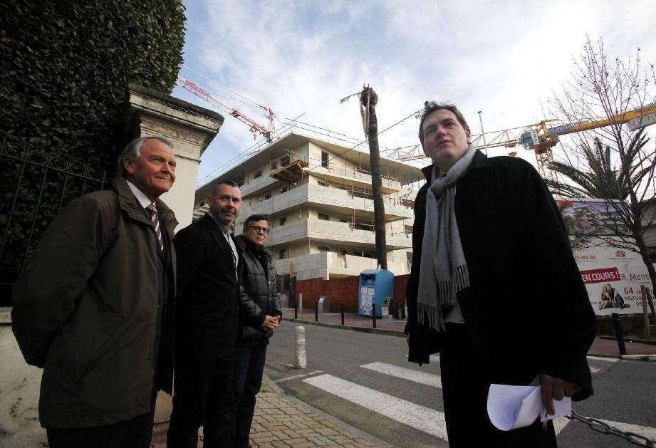 Quartier Montfleury, des constructions « trop denses » selon Philippe Tabarot qui aurait préféré « une coulée verte ».
