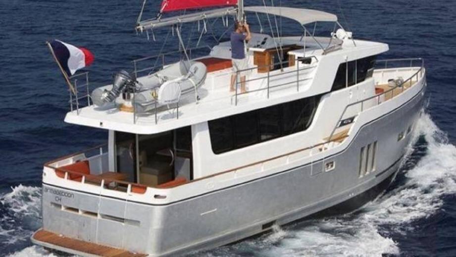 L'Armageddon, un yacht de 17 mètres immatriculé à Cherbourg, a disparu des radars dimanche vers 17 h.