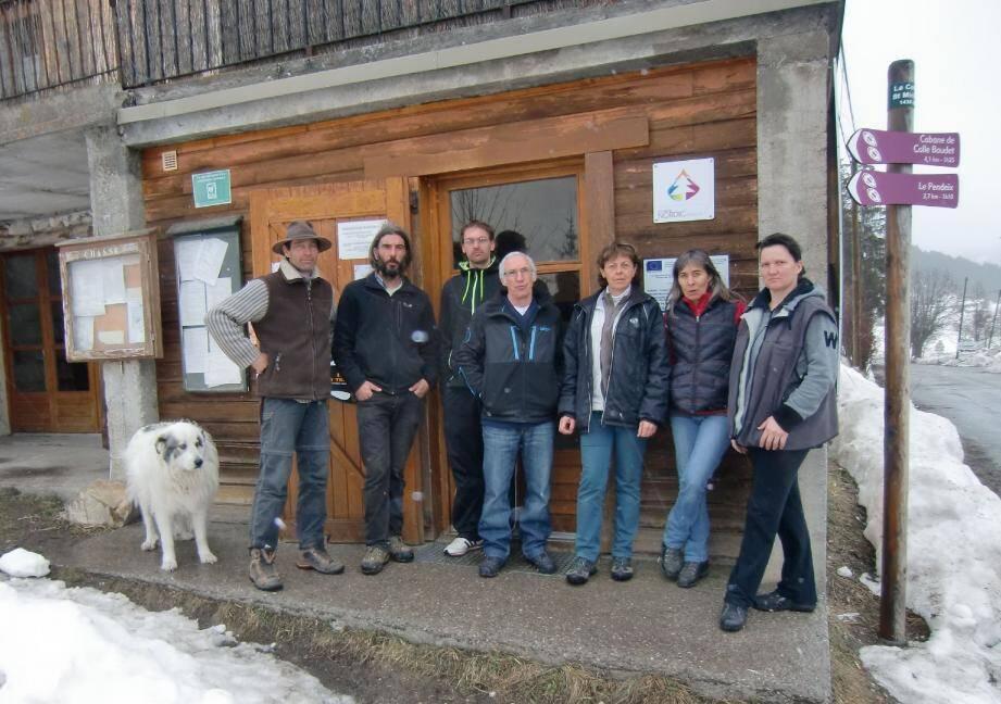 Le Val d'Allos n'est pas le seul touché. Les responsables du centre de ski de fond de la Colle-Saint-Michel impactés, ont tenu hier matin une réunion de crise.