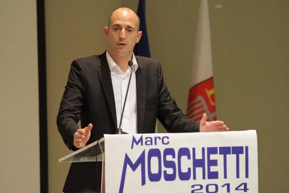 """""""Nous reverrons le PLU sans clientélisme et en gommant les inégalités, particulièrement aux Iscles et à Montaleigne"""", a notamment dit Marc Moschetti. (DR)"""