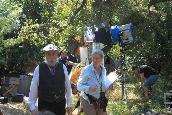 """Le film """"Renoir"""" a été tourné dans les jardins du Domaine du Rayol, dans le Var, en 2011. (Photo Michel Brussol, commission du film du Var)"""