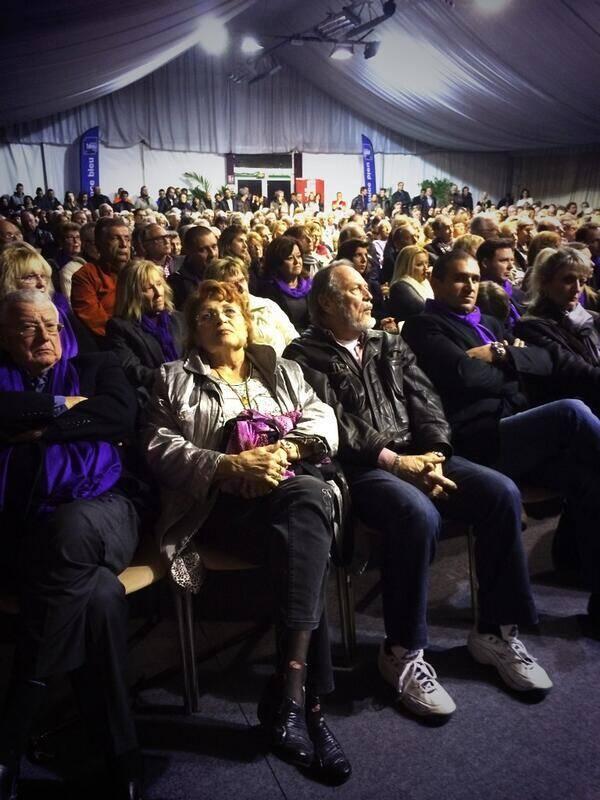 Ce lundi soir au débat organisé par Nice-Matin à Villefranche-sur-Mer.