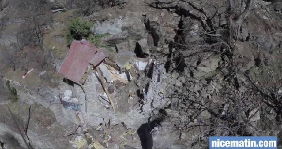 Isola: les images aériennes de l'éboulement mortel