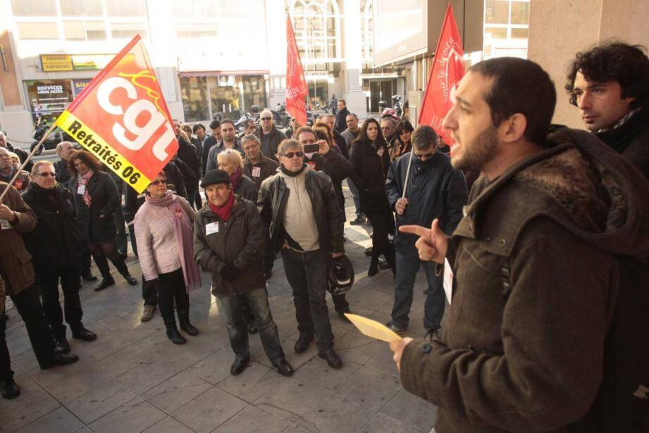 manif cgt poste thiers nice 140227