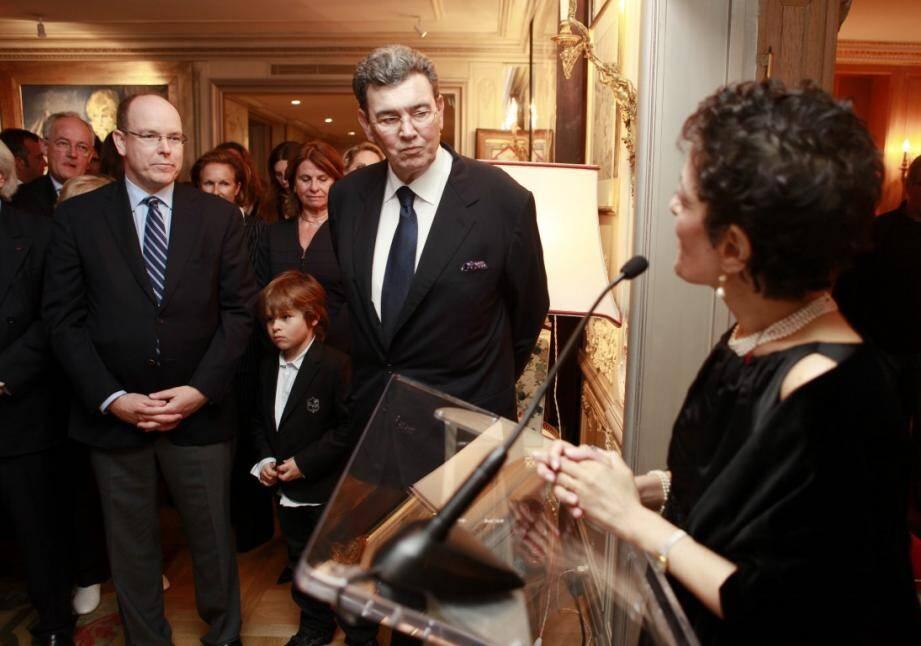 michel pastor prince albert II remise legion d'honneur derniere photo 140202