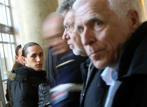 Gabriel et Christian Iacono lors du procès aux assises d'Aix-en-Provence en février 2011.
