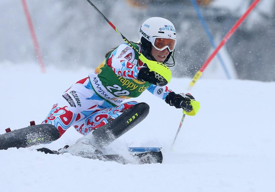 Lors de sa dernière manche de Coupe du monde, Nastasia Noens avait pris une belle 4e place à Kranjska Gora.