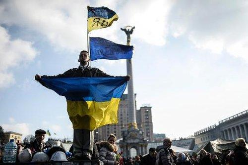 kiev ukraine revolution 140224 afp