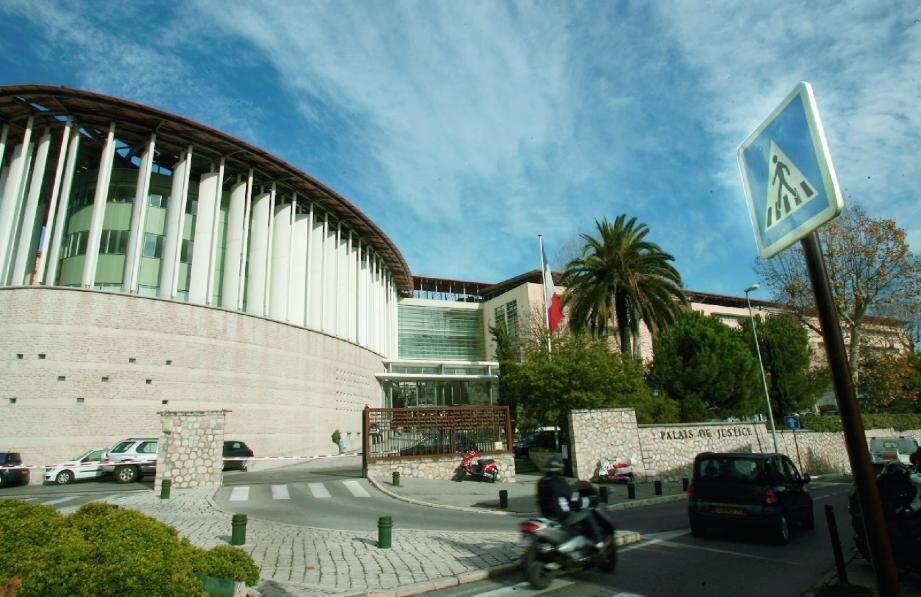 Le tribunal correctionnel de Grasse