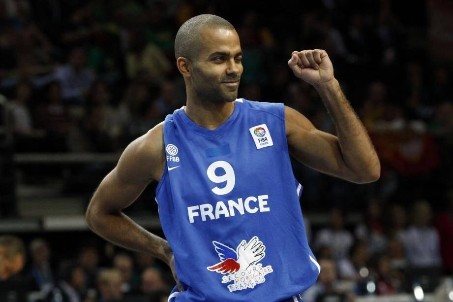 La préparation des Bleus de Tony Parker pour l'Euro 2013 de basket passe par Antibes.