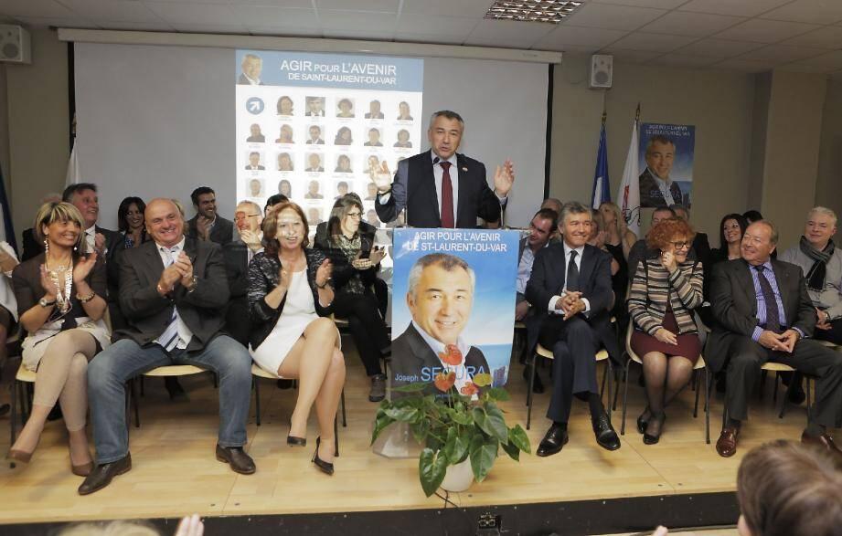 Pas à pas, Joseph Segura, candidat à l'élection municipale, assure avoir construit un socle collectif qui ne « trahira ni ses engagements ni les Laurentins » .