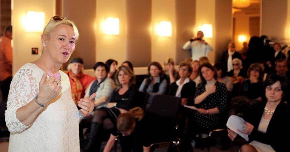 Françoise Bruneteaux a accueilli un public majoritairement féminin