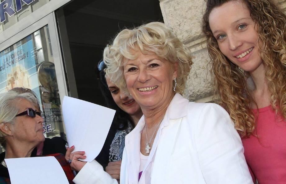 Marie-Christine Arnautu : « Nous représentons la seule opposition crédible face à Christian Estrosi. »
