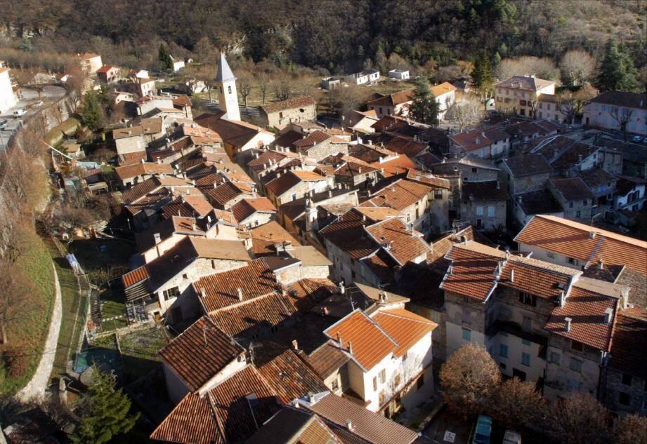 Moulinet, un petit village d'à peine 300 habitants mais des projets plein la tête…(Archives NM)