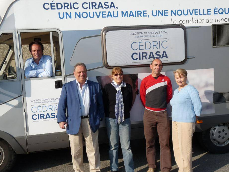 Cédric Cirasa assure qu'il conduira son équipe sans jamais changer de trajectoire.