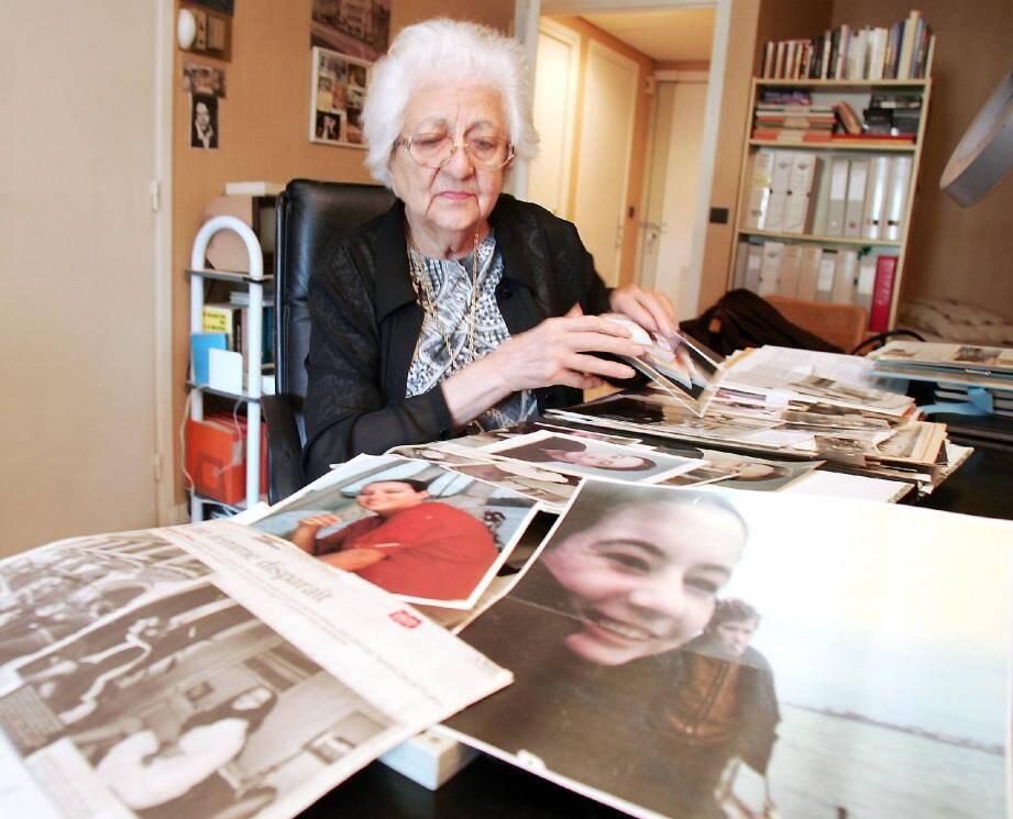 Dans l'incapacité à 92 ans de venir déposer, Renée Le Roux ne pourra défier une dernière fois celui qu'elle considère comme l'assassin de sa fille.