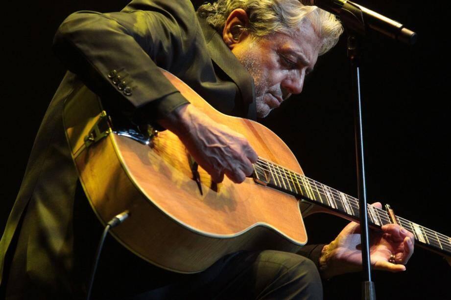 Le chanteur invite tous ses amis à venir l'écouter le samedi 22 mars à La Palestre.