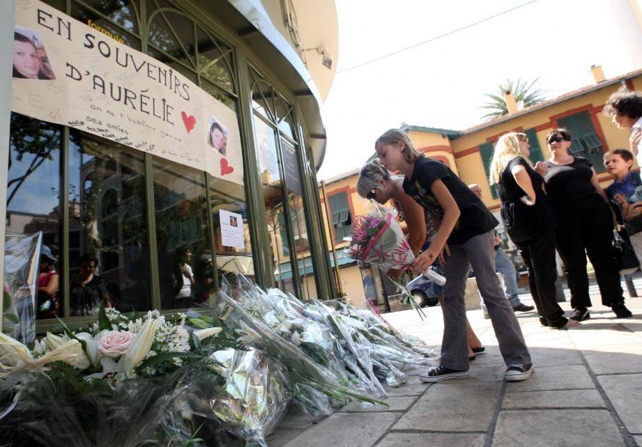 Au printemps 2011, une marche blanche avait honoré la mémoire d'Aurélie Fouché.