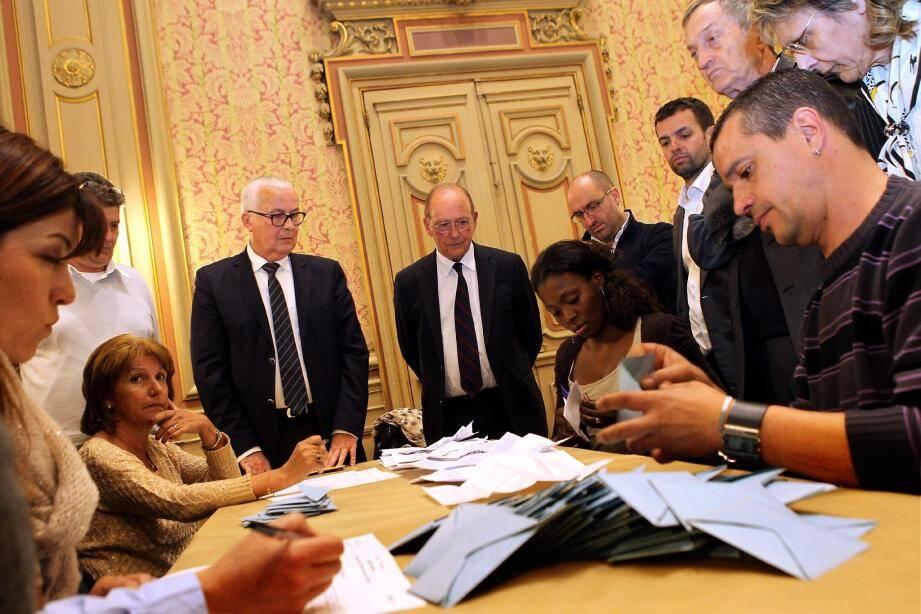 Dimanche, ce seront finalement trois listes qui chercheront à faire tomber Jean-Claude Guibal.