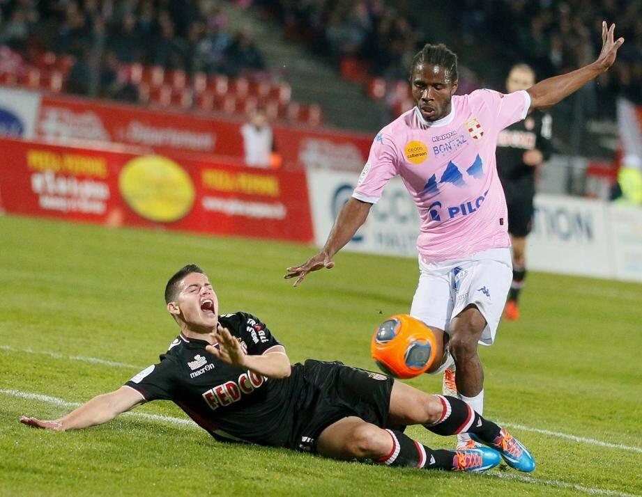 Peu inspirée, l'AS Monaco a concédé une quatrième défaite cette saison face à Evian.