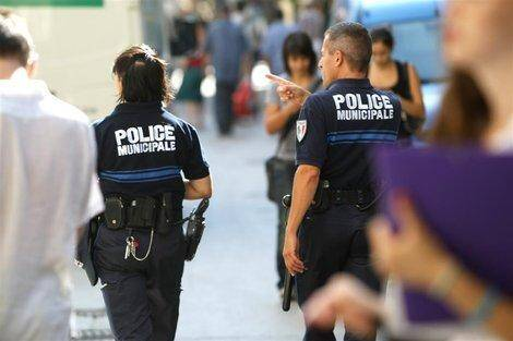 Une patrouille de la police municipale, à Toulon