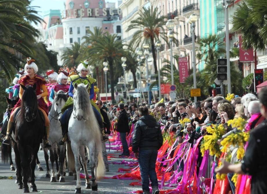 derniere bataille de fleurs carnaval 2014 gastronomie 140301