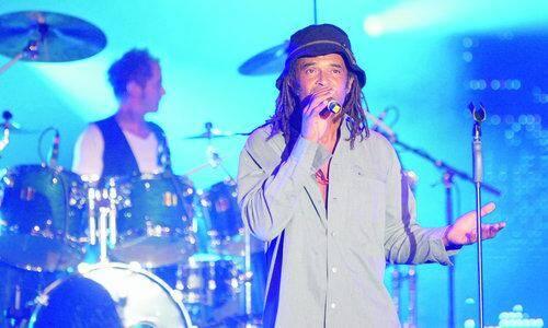 Yannick Noah sera sur la scène du Palais Nikaïa à Nice ce samedi 29 novembre 2014.