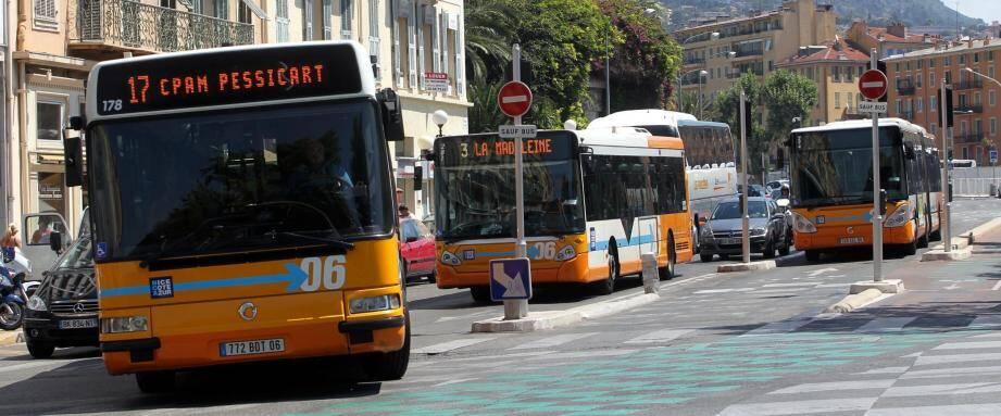 """Le classement """"Terra Eco"""" donne Nice à la 4ème place en matière de transports en commun."""