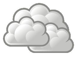 Illustration météo nuageux