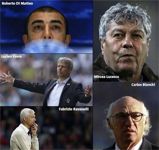 Le futur entraîneur de l'OM se trouve peut-être parmi ces visages...