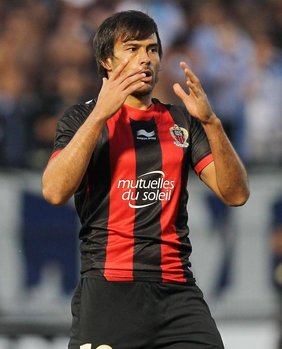 Dario Cvitanich ne jouera pas contre Lorient.